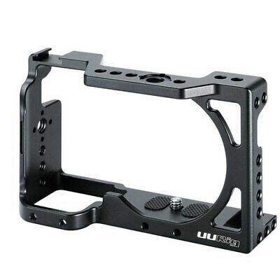 NEW UURig Camera Rabbit Cage Vlog Metal Lifting Gloves For SONY A6400 Camera