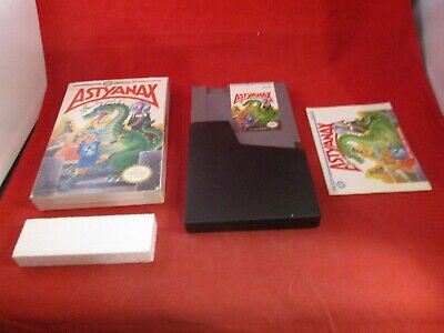 Astyanax (Nintendo Entertainment System, 1990) NES COMPLETE w/ Box manual #H1