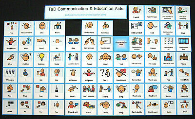Communication Cards  Autism/PECS/Dementia/ADHD/Self Help/Visual & Behaviour Aids