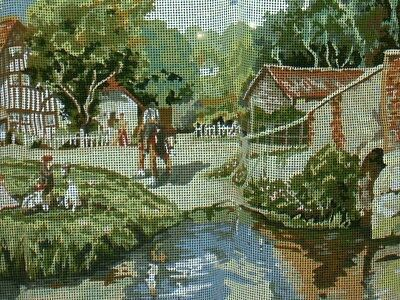 Crafts - Needlepoint - Canvas - Bynsford Kent - XLarge - Vintaged