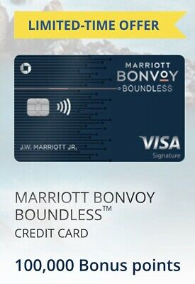 Marriott Bonvoy Chase Rewards Credit card (3 Free Nights + $25 FROM ME)