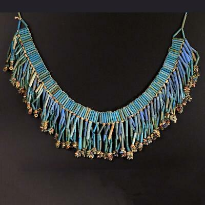 An Egyptian Broad Collar Faience Necklace, Late Period, ca 664-332 BC