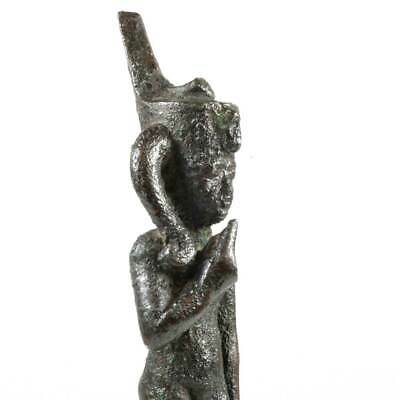 An Egyptian Bronze Figure of Harpokrates, Late Period ca. 664 - 552 BC