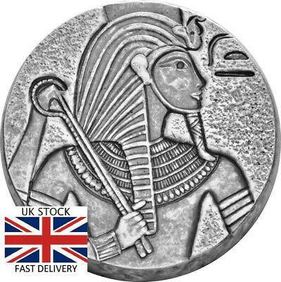 🇬🇧2016 King Tut 5-Ounce Silver Coin Boxed GIFT INVESTMENT Free Fast Delivery!!