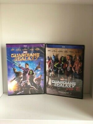 Guardians of the Galaxy 1 & 2 DVD Set Combo - Brand New!  Free Ship!