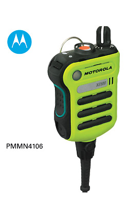 MOTOROLA - PMMN4106D XE500 High Impact Green - Extreme Remote Speaker