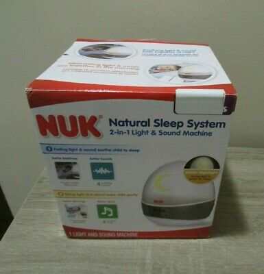 NUK Natural Sleep System Sound and Light Machine