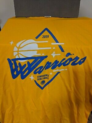 GS Warriors 2019 Conference Semi Finals STRENGTH in NUMBERS Playoff Shirt 4/30