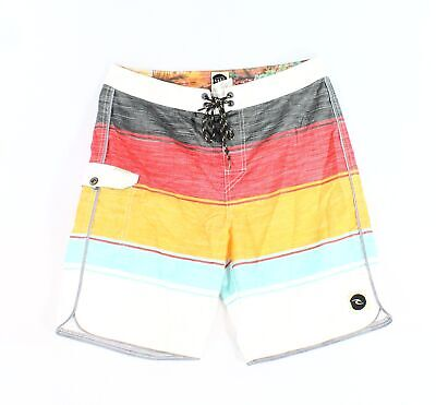 f2aa89322a $32.99 Buy It Now 19d 17h. See Details. Ripcurl NEW Red Mens Size 31  Colorblocked Stripe Board Shorts Swimwear $39 477