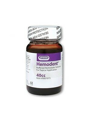 Premier Hemodent Topical Hemostatic Solution Liquid 40cc Bottle MFG#: 9007073