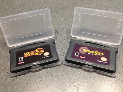 Golden Sun & Golden Sun Lost Age Game Boy Advance Gba Lot Option Available