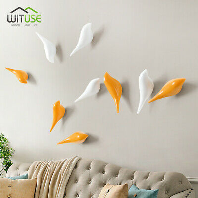 Wall Hanger Wall Mounted 3D Bird Resin for Cloth Hat Bag Hook Home Decors ≤10kg