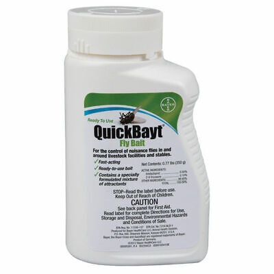QuickBayt Fly Attractant Bait Scatter Farm Stable 350gm