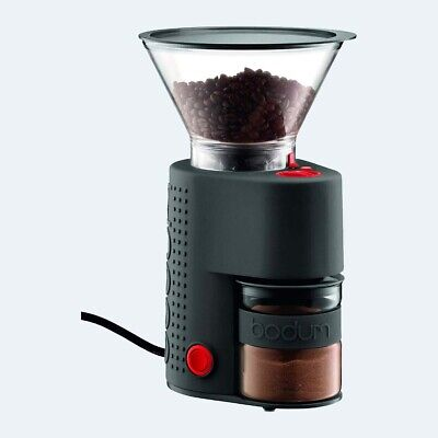 Bodum Bistro Burr Grinder, Electronic Coffee Grinder with Continuously Adjustabl