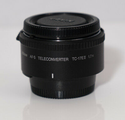 Nikon AF-S Teleconverter TC-17EII 1.7 X  - Used Excellent Condition Clean,Tested