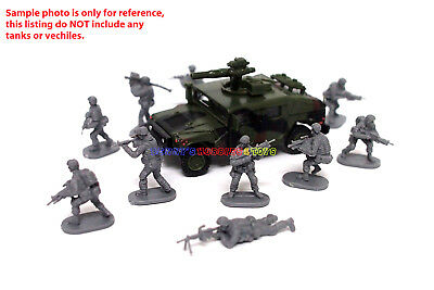 New Caesar 1/72 Modern US Army Men Figures (10pcs Diff. Poses) Toy Soldiers