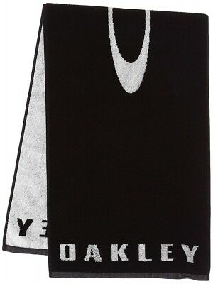 cheap for discount 0f0ac e7b30 NEW Oakley Golf Towel ICON 34 x 110cm 13.4 x 43.3 in 99437JP Black With  Tracking