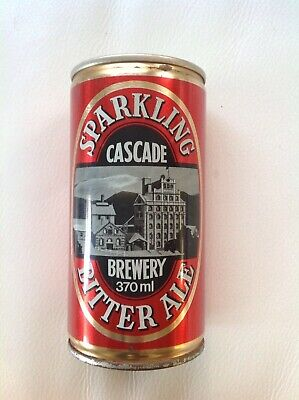 Cascade Sparking Bitter Ale Steel Crimped 370ml Beer Can Rare