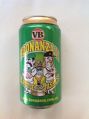 VB Boonanza II Battle of The Tashes Collectable Beer Can