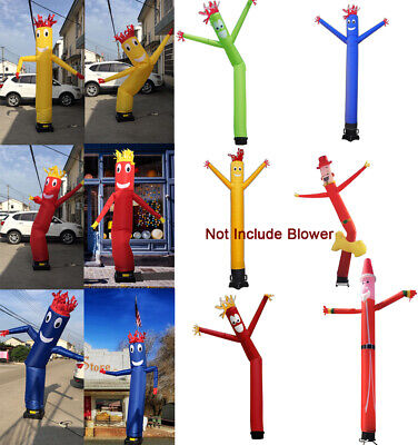 3M/6M Advertising Sky Dancer Inflatable Tube Man Air Wavy Wind Puppet(No Blower)