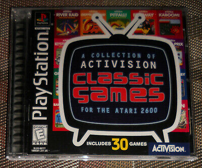 Sony Playstation 1 PS1 Activision Classic Games 30 Titles (1998) COMPLETE TESTED