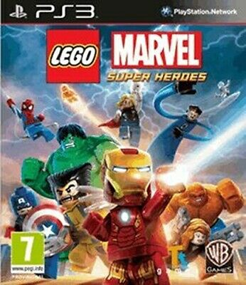 LEGO Marvel Super Heroes - Super Pack (PS3), Good PlayStation 3, Xbox 360 Video