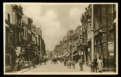 Antique Postcard~Stourbridge High Street~Dudley/West Midlands/Worcestershire Rp