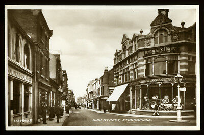 Rp Postcard~Stourbridge High Street~Dudley/West Midlands/Worcestershire #5