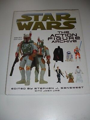 Star Wars The Action Figure Archive. Hardback Book
