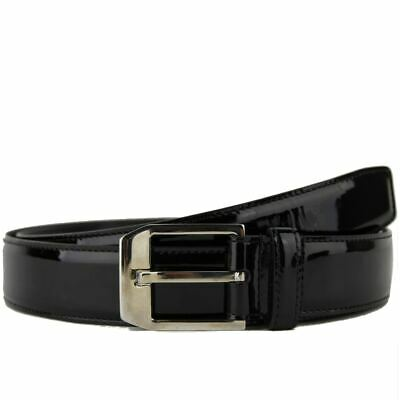 d05dbdb7db7  445 Nwt Ysl Yves Saint Laurent Men s Belt Black Leather 314624 Size 110 Cm  44