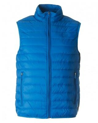 99a6e94d ARMANI JEANS LIGHTWEIGHT Down Quilted Gilet Blue - 3Xl Rrp £145