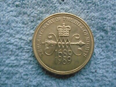 1989 Two Pounds Coin.