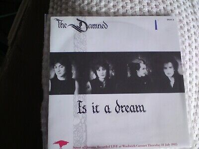 "the damned is it a dream 7"" record ,USED,"