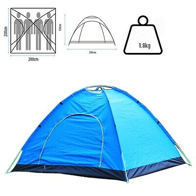 Camping fishing beach Dome Family Easy Pop Up 3-4 Berth Outing Quickpitch Tent