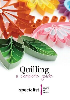 QUILLING BOOKLET (quilling book) 20 Pages Specialist Crafts