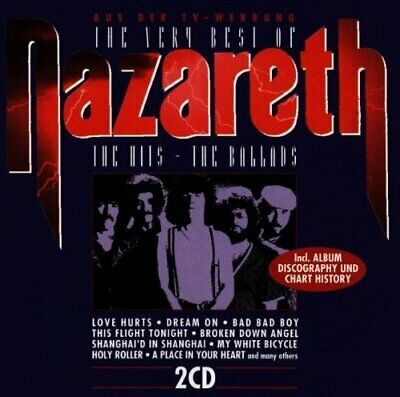 2-CD Nazareth - The very Best of the Hits and the Ballads