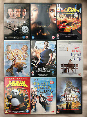 Job Lot Collection/Bundle of 9 DVD Movies Comedies/Fast and Furious + More