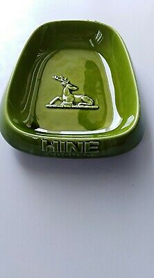 Ceramic Ashtray Vintage Collectible Made In France Hine Cognac Great Bar ware