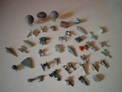 Star Wars micro machines - ships, vehicles, pod racers etc.