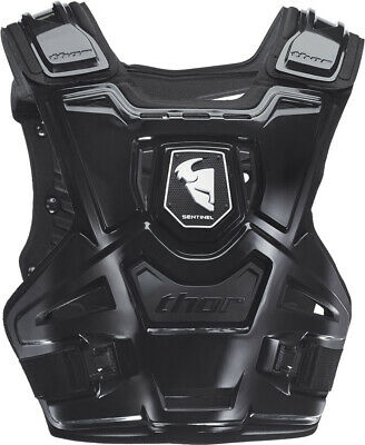 Thor Sentinel Black Motocross Body Armour Chest Protector Adult Small / Medium