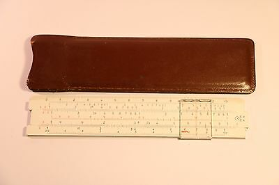 ARISTO RIETZ NR.89 Slide Rule Made in Germany 1950'S