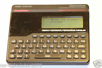 Very Rare Franklin French Professor Fp 610 1987-1991 Working