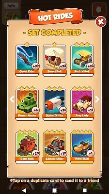 Pick 5 Coin master Cards
