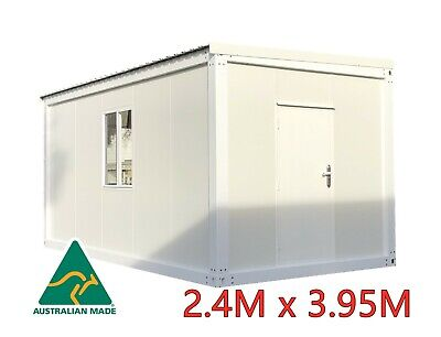 NEW Container Portable Modular Site Tiny Home Cabin Office Studio Shed Sleepout