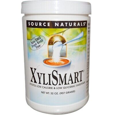 Source Naturals, XyliSmart, 2 lbs (907 g) 100% Pure Xylitol (From Birch Tree).