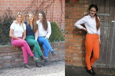 Ladies Easy Pull On Summer Comfort Jodhpurs Horse Riding Jodphurs Womens