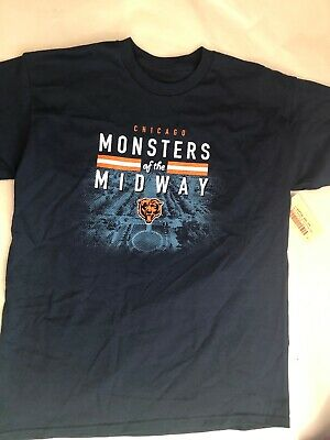 81790632 Chicago Bears Monsters Of The Midway Short Sleeve T-Shirt Youth Size Large  14/