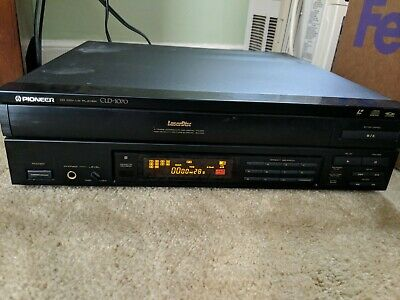 Pioneer CLD-1070 LaserDisk Player no remote included working