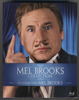 The Mel Brooks Collection * 9 Films * Blu-Ray * New & Sealed