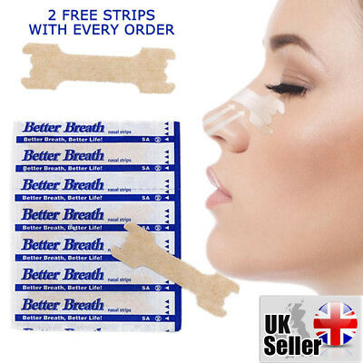 5 - 1000 Nasal Nose Sleep strips better breathe Stop Snoring Breath Easier